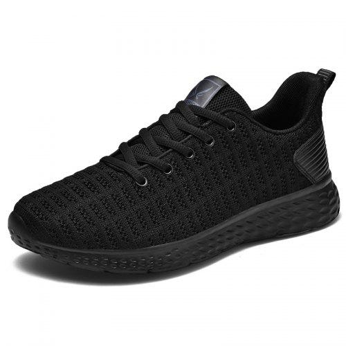 Fashion Shoebox Mesh Sports Shoes Womens Running Shoes Womens Breathable Flying Woven Casual Shoes