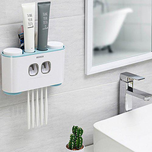 Home Automatic Toothpaste Dispenser Bathroom Squeeze Out Maker Tool