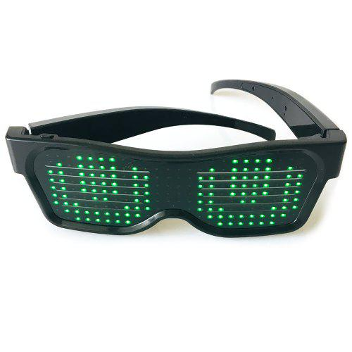 LED Louver Dynamic Bluetooth Colorful Glasses Party Devices