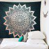 Bohemian Style Printed Home Wall Decoration Tapestry - CZARNY