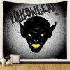 Halloween Creative Vampire Pattern Tapestry - NIGHT