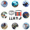 Camera Waterproof Case for DJI Osmo Action 15PCS - TRANSPARENT
