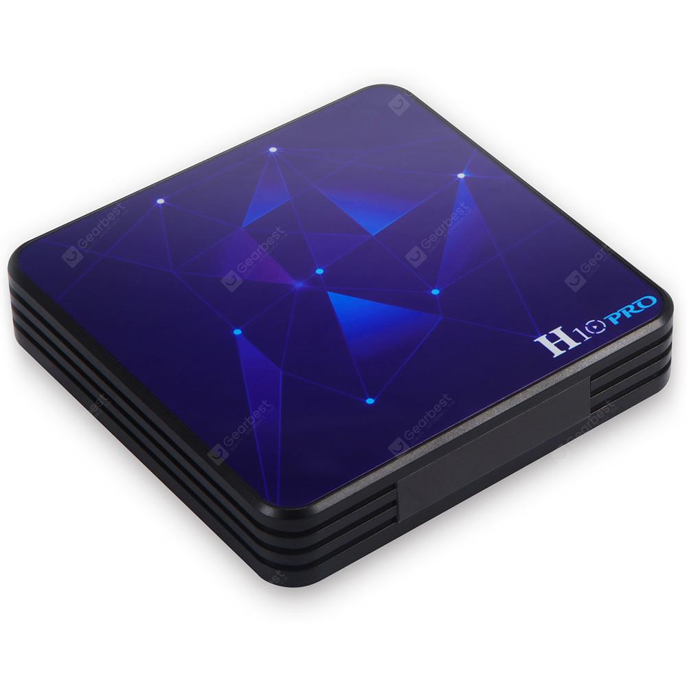 Gocomma H10 PRO Android 9.0 TV Box - Black 4GB RAM+32GB ROM