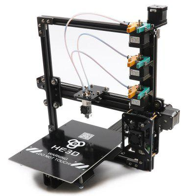 He3D Unique Tri-color All-metal 3D Printer