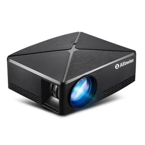 Alfawise A80 2800 Lumens BD1280 Smart Projector with 1GB RAM 8GB ROM LCD Display