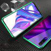 Double-sided Tempered Glass Magnetic Mobile Phone Case for HUAWEI Honor 9X Pro - RED