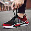 Men Casual Sneakers Breathable Personality - CHESTNUT RED