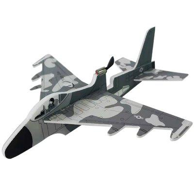 DIY Electric Aircraft Fighter Hand Throwing USB Maneuver RC Airplane Toy