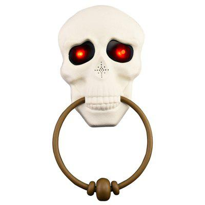 Halloween Doorbell Festive Decoration Rendering Atmosphere
