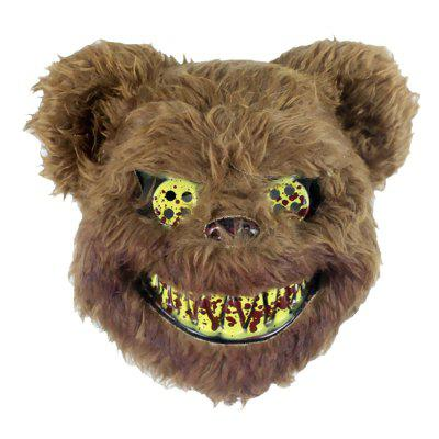 Halloween Bear Model Festive Face Mask