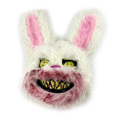 Halloween Bunny Model Festive Face Mask