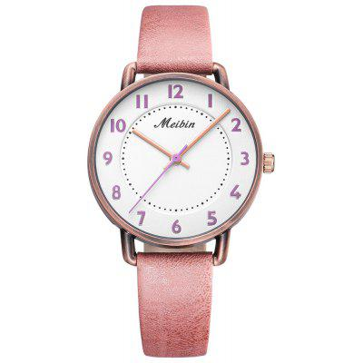 MEIBIN 1079 Ladies Quartz Watch Fashion Trend Waterproof