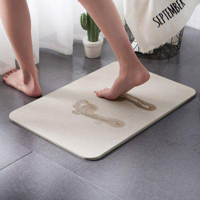 Diatom Mud Foot Pad Bathroom Absorbent Quick-drying Mat