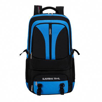 Mannen Backpack Contrast Waterproof Nylon grote capaciteit Outdoor Mountaineering Bag