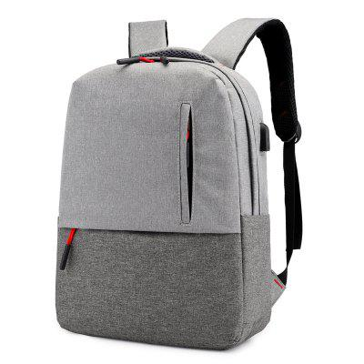 Mochila Masculina Contrast Business Casual Laptop Bag