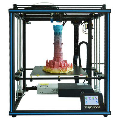 Tronxy X5SA - impressora 3D industrial do uso home educacional do Desktop de 400 24V