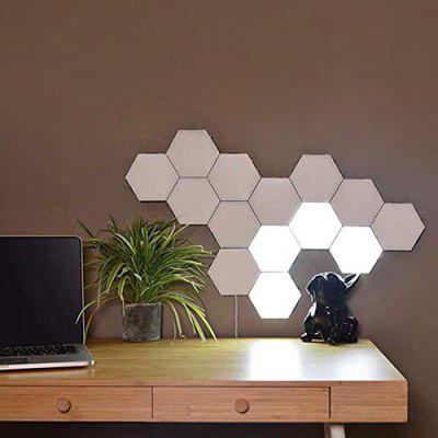 Touch Control Wall Light Hexagon Honeycomb Induction Lamp