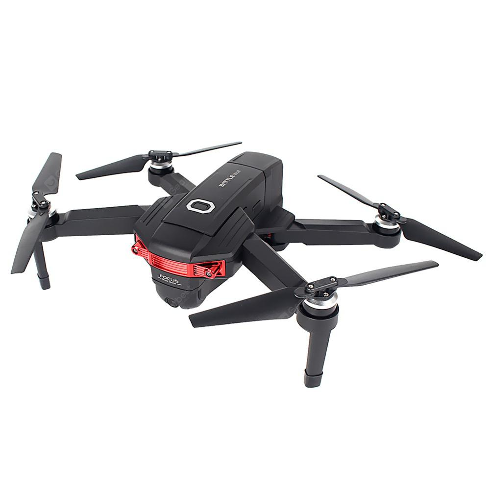 LEAD HONOR X46G GPS 5G WiFi FPV with 4K Dual Cameras Brushless RC Drone - Black One Battery with Handbag
