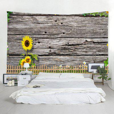 Indoor Wall Sunflower Printing Tapestry