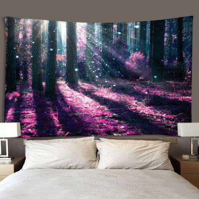 Fantasy Forest Pattern Print Indoor Wall Tapestry