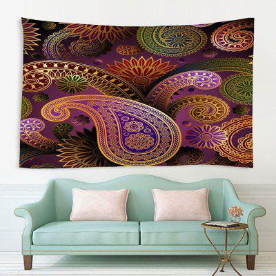 Indoor Wall Decoration Abstract Flower Pattern Polyester Printing Tapestry