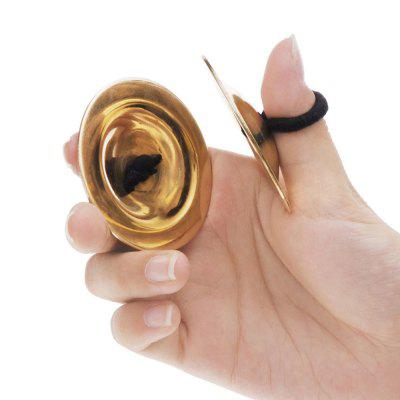Belly Dancing Finger Cymbals Musical Instrument
