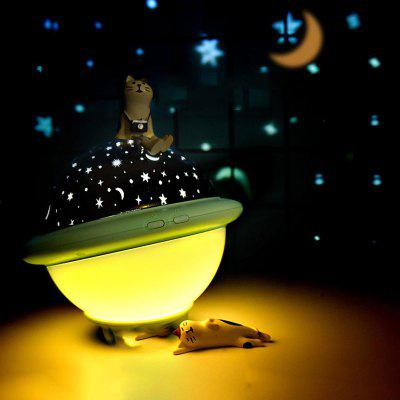 Brelong LED Stellar Projeção Lâmpada Night Light