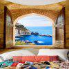 Indoor Polyester Printing Tapestry Wall Decoration - MULTI-A