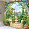 Indoor Wall Decoration Dreamy Scenery Pattern Polyester Printing Tapestry - MULTI-A