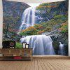 Indoor Wall Decoration Waterfall Printing Tapestry - MULTI-A