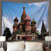 European 3D Tapestry Wall Decoration Covering Background - SKY BLUE