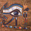 Indoor Wall Decoration Abstract Eye Pattern Polyester Printing Tapestry - MULTI-A