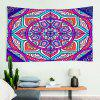 Indoor Wall Decoration Color Flower Pattern Polyester Printing Tapestry - MULTI-A