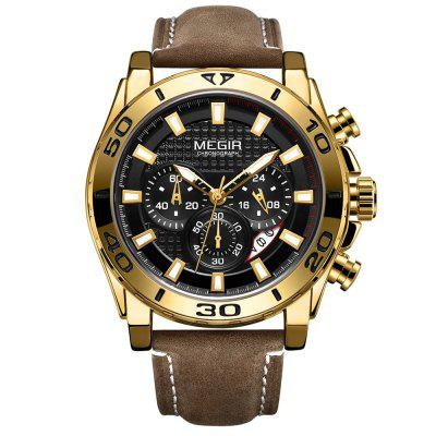 MEGIR 2094G Men's Sports Quartz Watch Multi-Function Style