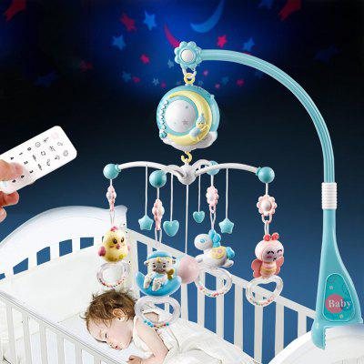 Baby Rattles Crib Toy Holder Rotating Musical Box Projection 0 - 12 Months Infant Toys