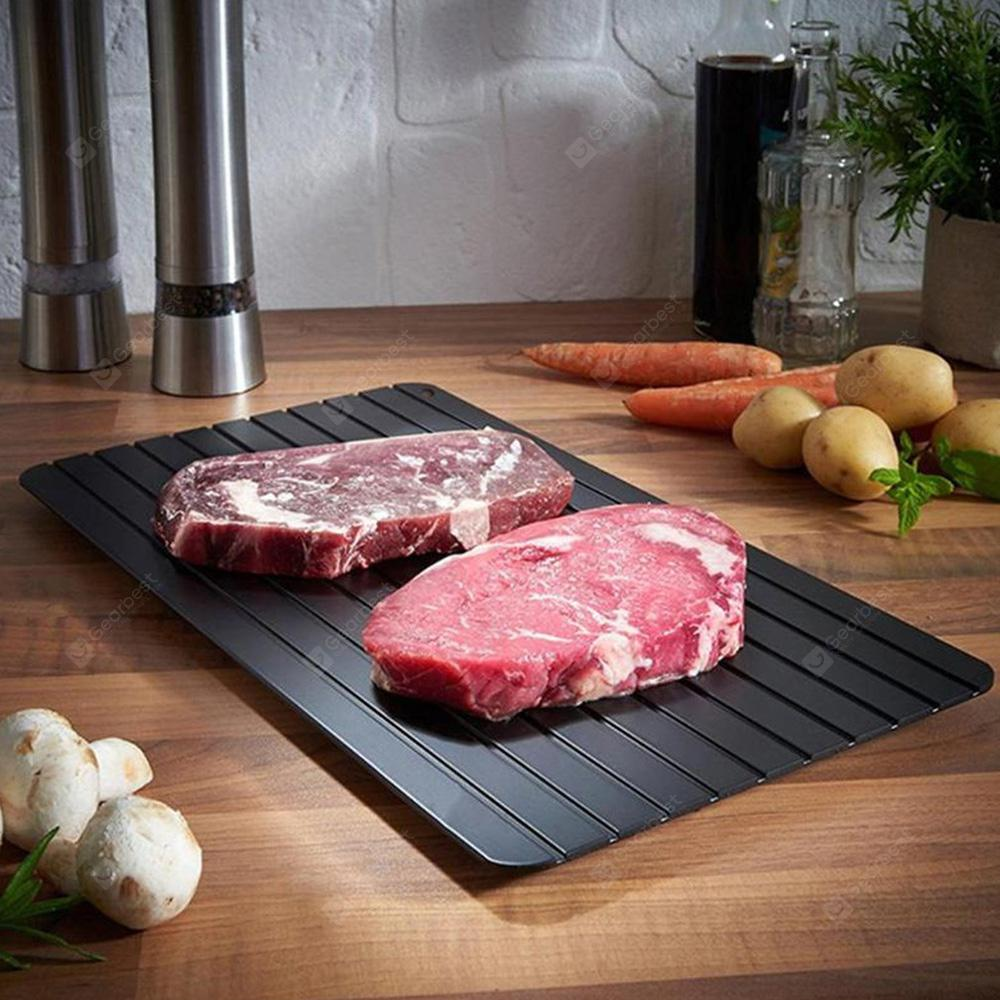 Gocomma ZIS - D004 Non-stick Kitchen Tool Fast Defrosting Tray - Black
