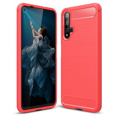 HusaWEI Honor 20 Pro / Honor 20 HusaWEI Honor 20 Pro / Honor 20 din fibra de carbon Naxtop Soft Cover Cover Cover pentru telefon