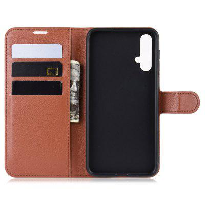 Naxtop PU Leather Wallet Flip Cover Phone Case with Card Slot for HUAWEI P20 Lite 2019 / Nova 5i / Nova 5 Pro / Nova 5