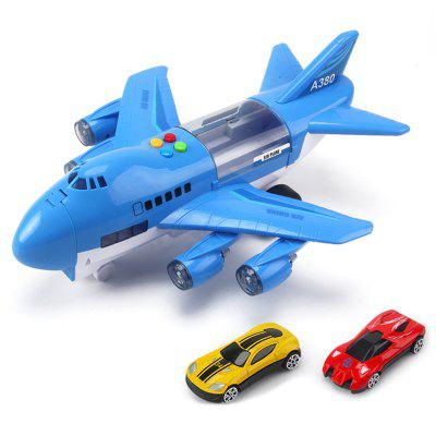 Music Story Simulation Track Inertia Children's Aircraft Large Size Passenger Plane Kids Airliner Toy Car