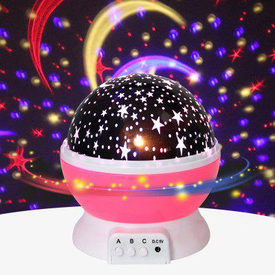 Obrotowa lampa projekcyjna Stars Starry Sky LED Night Light