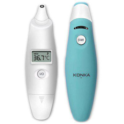 KONKA AET - R101 Thermomètre Infrarouge à Double Mode Forehead / Ear