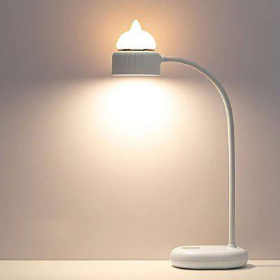 Lampe de Table LED de Lecture Mignonne à Charge USB