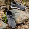 Men's Breatheable Outdoor Sports Travel Shoes - GRAY