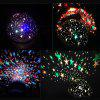 Rotating Projection Lamp Stars Starry Sky LED Night Light - BLUE
