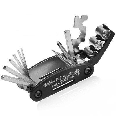 16-in-1 Mountain Bike Multi-tool Hex Screwdriver Wrench