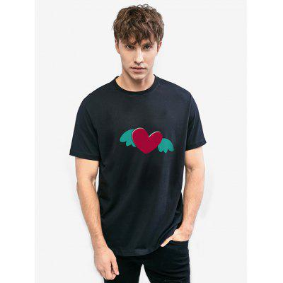Zillife My Heart Is Flying Printed Unisex T-shirt