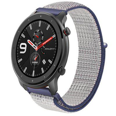 TAMISTER Canvas Replacement Strap for Amazfit Watch GTR 42MM