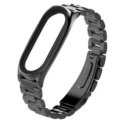 TAMISTER Solid Replacement Steel Belt for Xiaomi Band 4