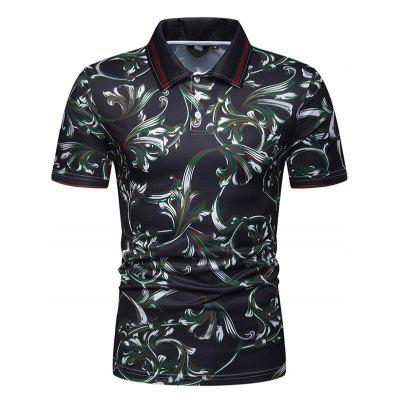 Men's Fashion Printed Casual T-shirt