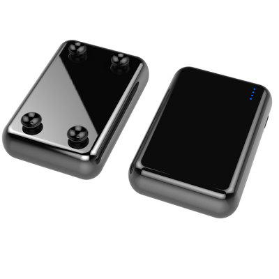 P033D Suction Cup Wireless Charging 10000mAh Mobile Power Bank